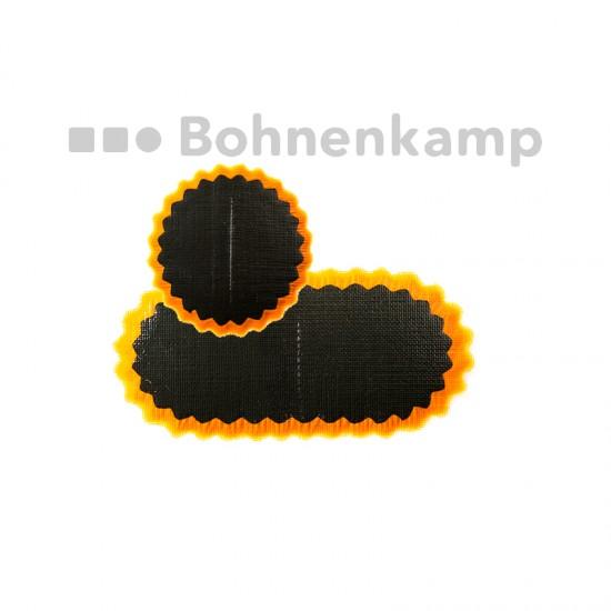 Schlauchflicken Größe 1, 35 mm, Stern